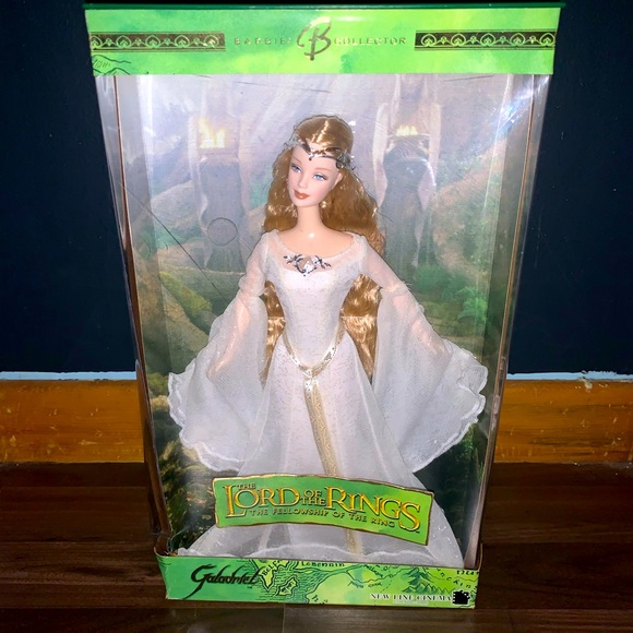 2004 New Mattel Barbie Galadriel Lord Of The Rings